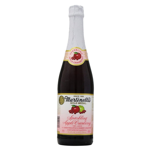 Martinelli's Sparkling Apple-Cranberry Juice 25.4oz - Best By