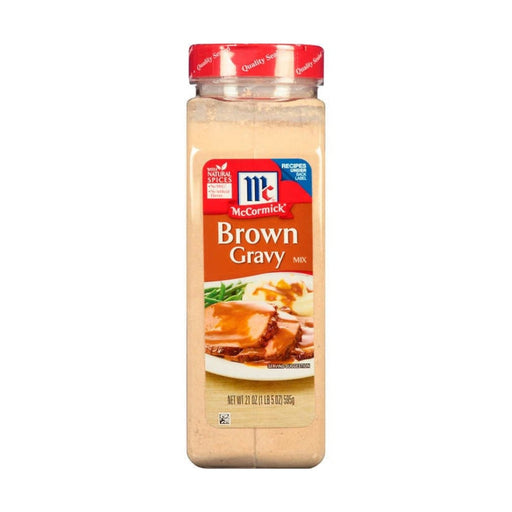 McCormick Brown Gravy Mix 21oz - Best By