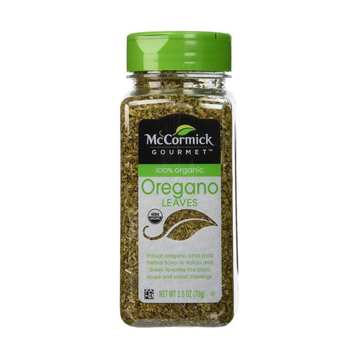 McCormick Gourmet 100% Organic Oregano 2.5oz - Best By