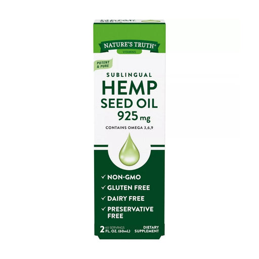 Nature's Truth Hemp Seed Oil 2 fl oz - Best By