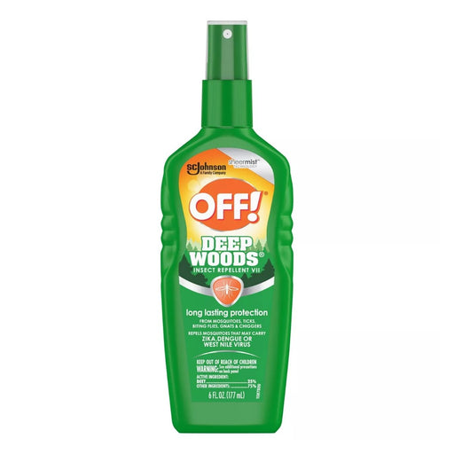 OFF! Deep Woods Insect Repellent 6 fl oz - Best By