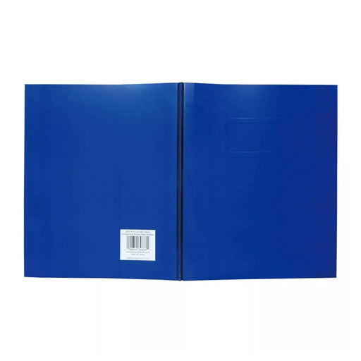 Pallex 2 Pocket Paper Folder with Prongs Blue - Best By