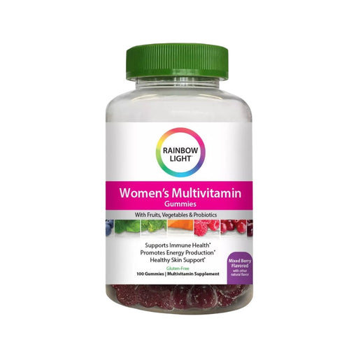 Rainbow Light Women's Gummy Vitamin with Immune Health Support 100ct - Best By