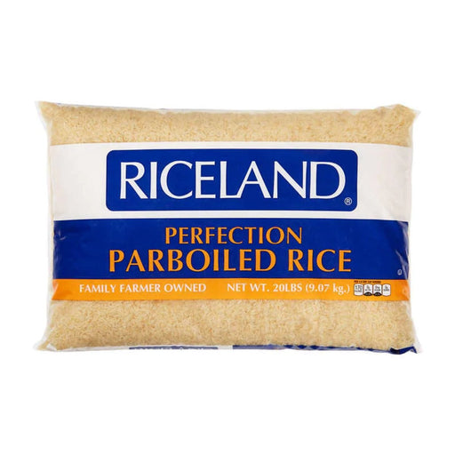 Riceland Perfected Parboiled Long Grain Rice 20 lbs - Best By