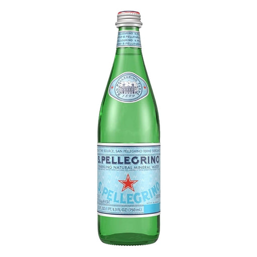 S.Pellegrino Sparkling Natural Mineral Water 25.3 fl oz - Best By