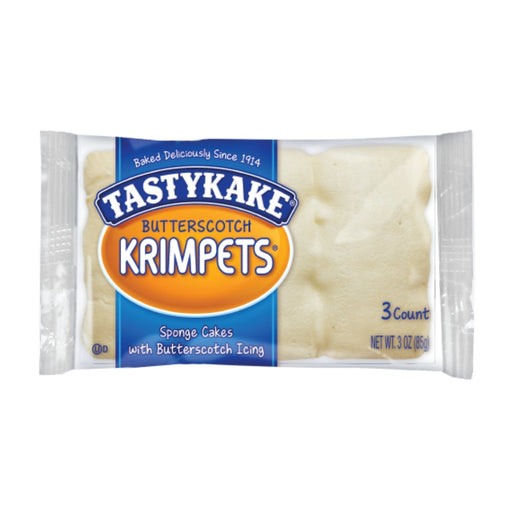 Tastykake Butterscotch Krimpets 3oz 6ct - Best By