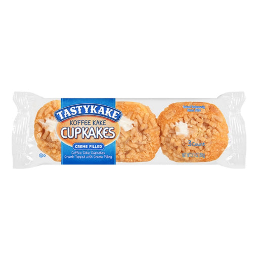 Tastykake Koffee Kake Cupcakes 3.1oz 6ct - Best By
