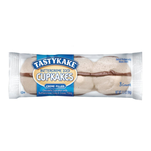 Tastykake Tastykake Buttercreme Iced Cupcakes 3.5oz 6ct - Best By