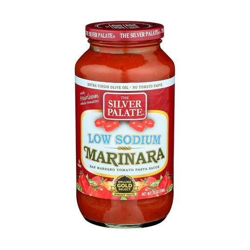 The Silver Palate Pasta Sauce Low Sodium Marinara 25oz - Best By