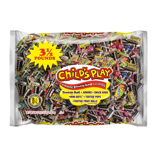 Tootsie Roll Childs Play Candy 3.5lb - Best By