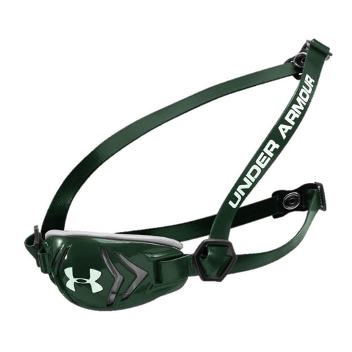 Under Armour Armershield Adult L/XL Chinstrap Green - Best By