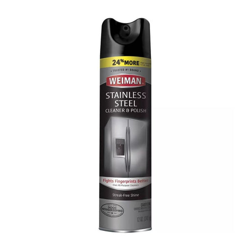 Weiman Stainless Steel Cleaner and Polish 12oz - Best By