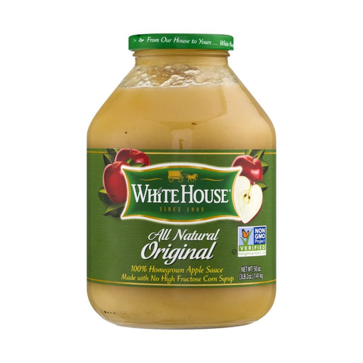 White House All Natural Original Apple Sauce 3.2 lbs - Best By