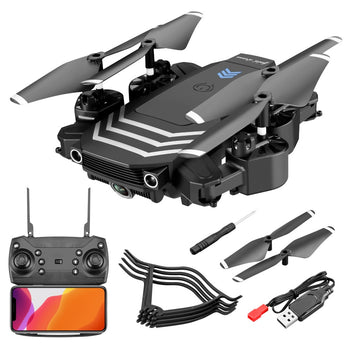 Compact Quadcopter RC Drone 4K With camera HD