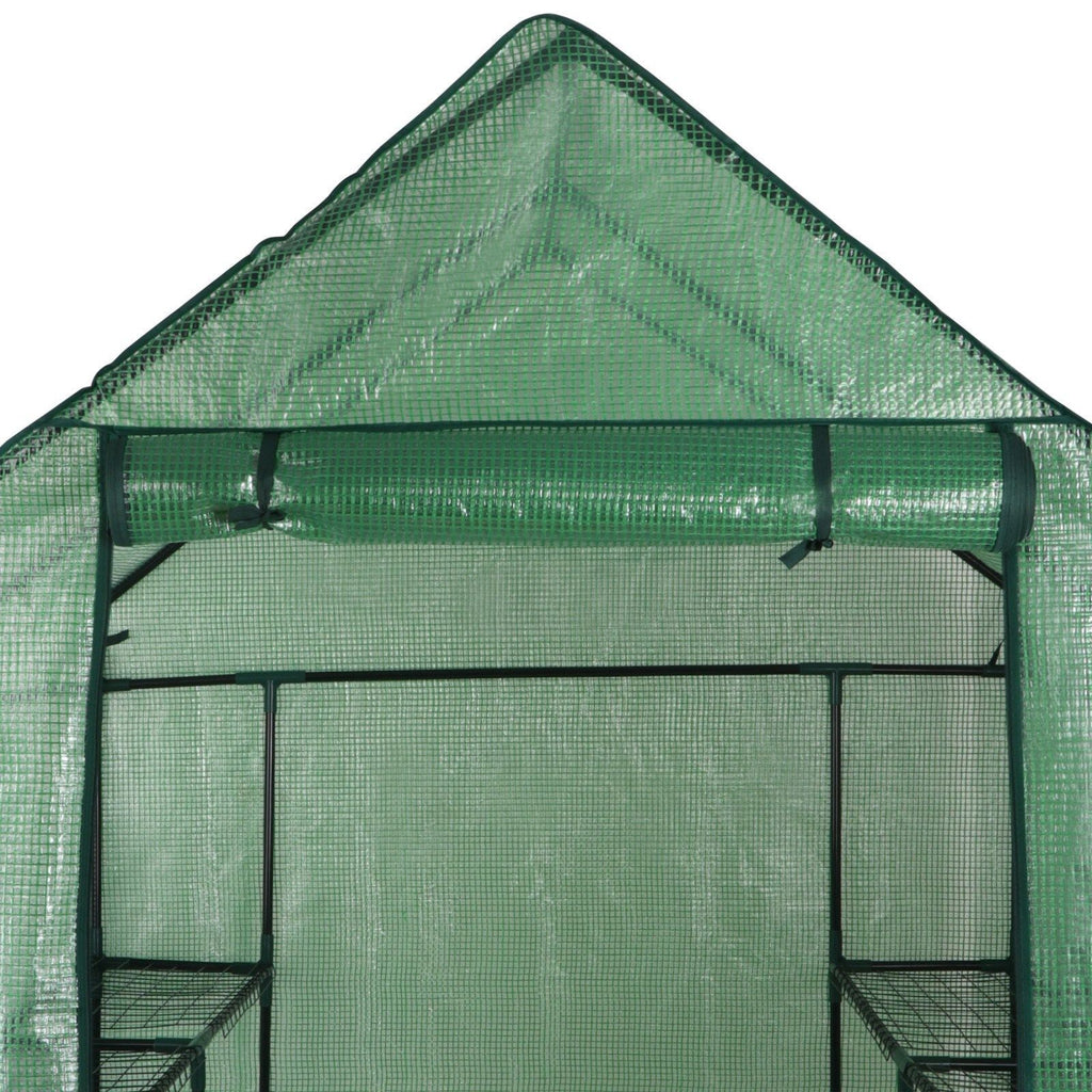 Large Walk-in Plant Greenhouse with Shelving
