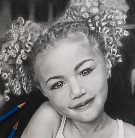 Portrait Artist | Shayne Wise Art - Image of child Portrait