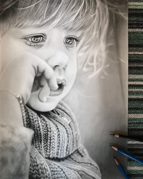 Portrait Artist | Shayne Wise Art. Child Portrait Drawing