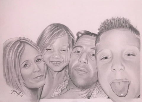Family Portrait Drawing #2