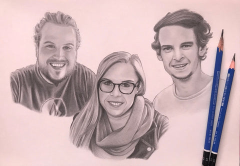 Family Portrait Drawing #3