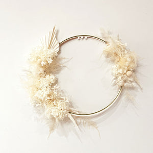 Wreath only (Fresh or Dried)