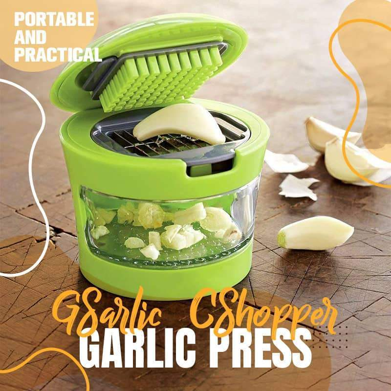 Garlic Press and Chopper