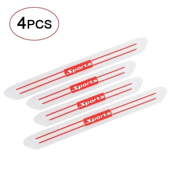 4pcs Car Door Sill Scuff Guard