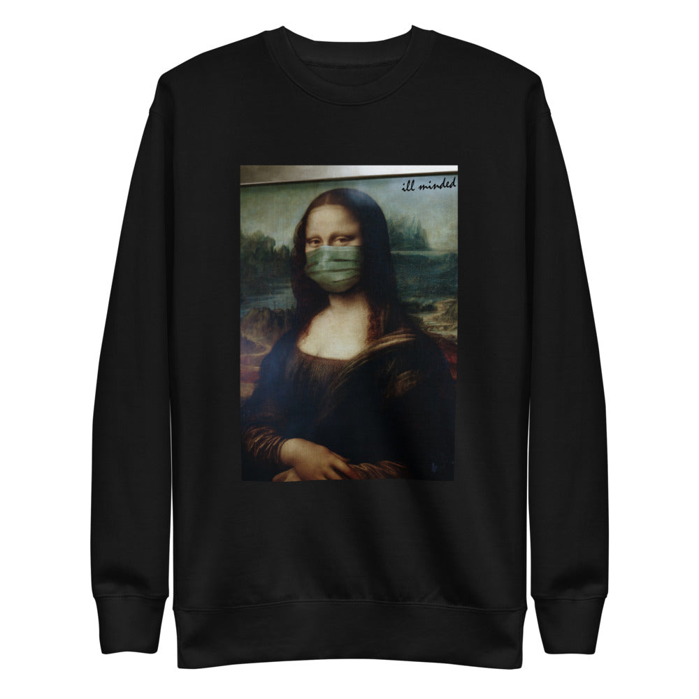 Masked Mona Pullover