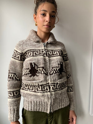Thunderbird Cowichan Sweater