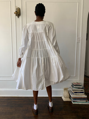 1980s Cotton Dress