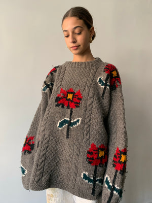 Poinsettia Sweater