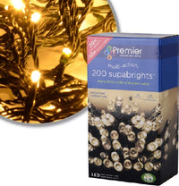 Premier Multi Action Supabrights Led Christmas Lights - Various Sizes & Colours