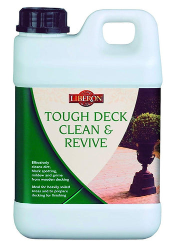 Liberon Tough Decking Cleaner and Reviver - 2 Litre