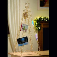 Gold Christmas Card Holder - 1 Meter - Holds Up To 100 Cards