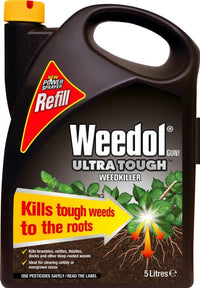 Weedol Ultra Tough Weedkiller -  Refill - 5 Litre