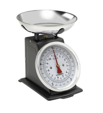 Terraillon Traditional Mechanical Kitchen Scales - Black