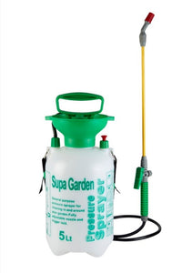 5 Litre Manual Knapsack Garden Pressure Sprayer Spray Kill Weeds SupaGarden