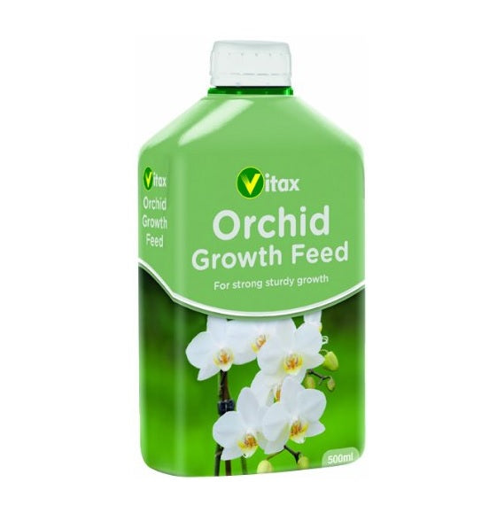 Vitax Orchid Growth Liquid Feed 500ml - Plant Food