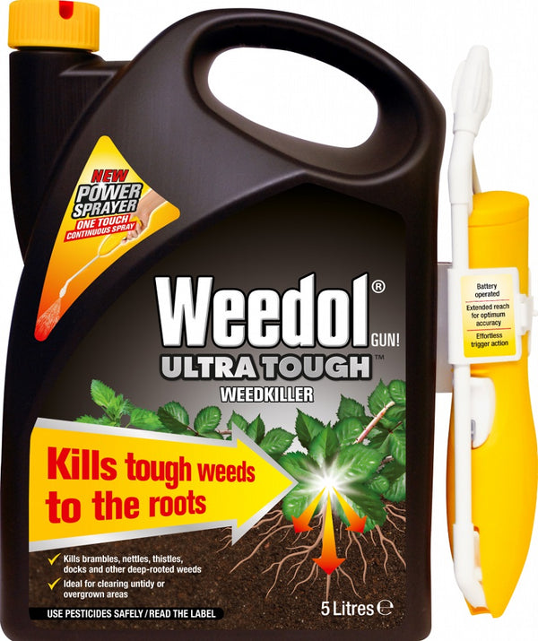Weedol Ultra Tough Weedkiller -  Power Sprayer - 5 Litre