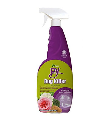 Vitax Py Insecticide Bug and Insect Killer Spray Bottle - 750ml