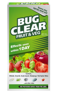 BugClear Fruit and Vegtables Liquid Concentrate Insecticide Bottle - 250 ml