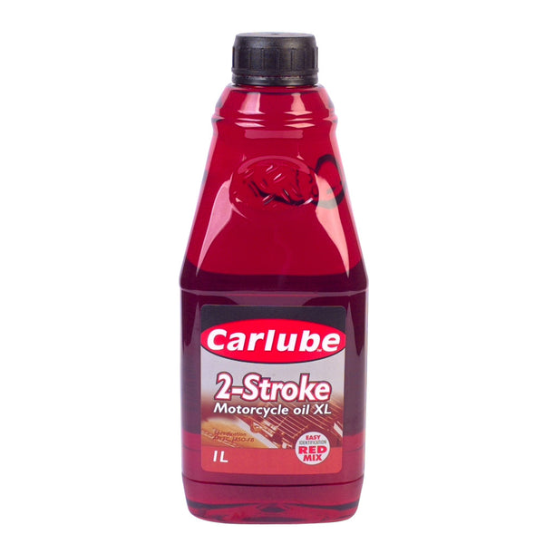 1L Carlube 2-Stroke Mineral Motorcycle Oil - 1 Litre - Quality Mineral Oil