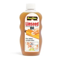 Rustins Linseed Oil Raw- A Natural Nourishing Treatment- ALL SIZES AVAILABLE