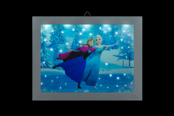 FROZEN DISNEY FILM - LED Photo Skating - Battery Operated 23 x 18cm