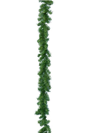 Canadian Pine Green Christmas Garland - 270cm X 20cm