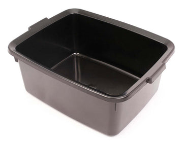 Addis 5 Star Rectangular Washing Up Bowl 12 Litres Black / Metallic