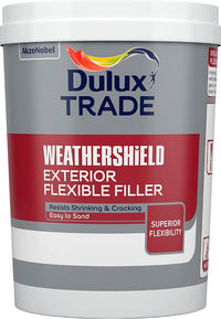 Dulux Trade Weathershield Flexible Filler 450 Gram *Easy to sand*
