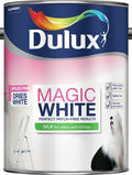 Dulux Retail Magic White Silk Paint - Pure Brilliant White - All Sizes