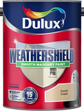 Dulux Weathershield Smooth Masonry Paint Colours 10 Litres