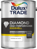 Dulux Dulux Trade High Performance Diamond Eggshell Pure Brilliant White 5L