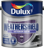 Dulux Retail Weathershield Exterior Satin Paint - All Colours and Sizes